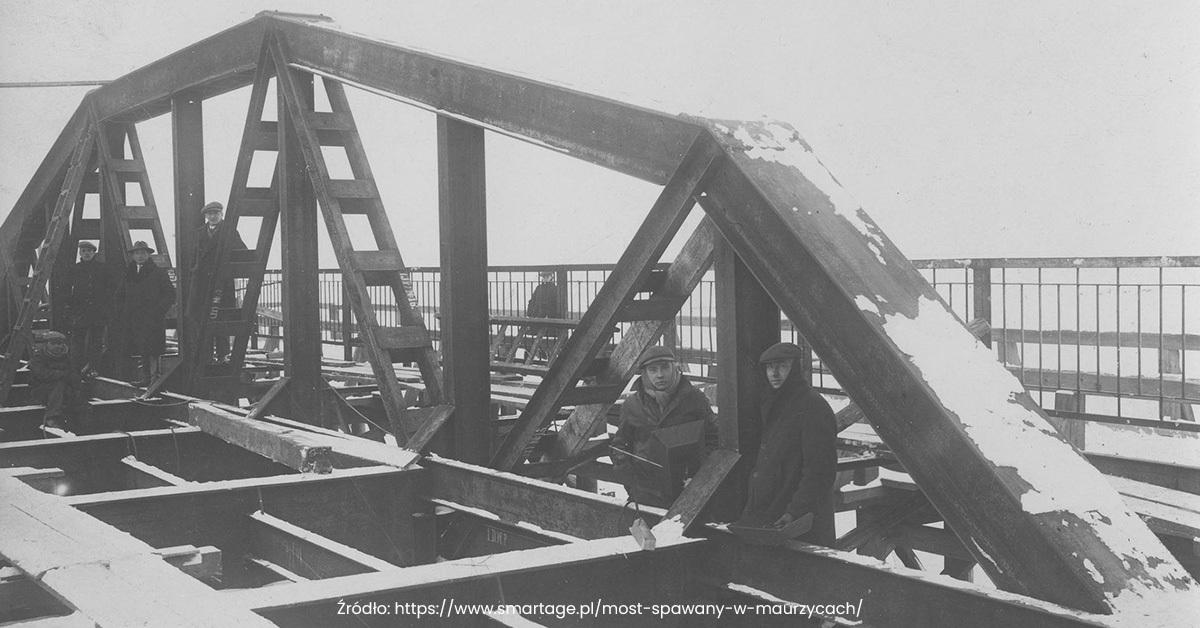 Pierwszy na świecie most spawany